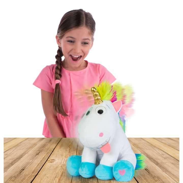 Puffy el peluche Unicornio divertido es lindo - 1