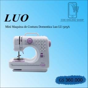 Mini máquina de coser eléctrica Luo