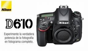 Cámara Nikon D610 Cuerpo