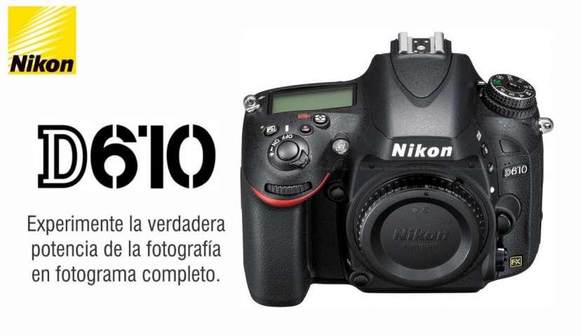 Cámara Nikon D610 Cuerpo - 0