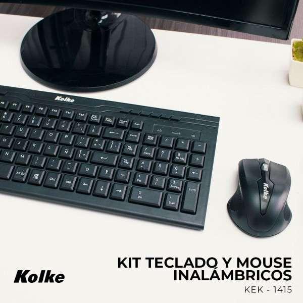Teclado + mouse Kolke negro KEK-1415 - 1