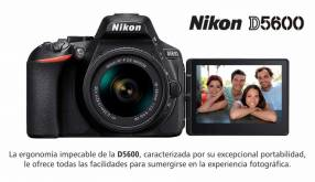 Cámara Nikon D5600 Kit 18-55mm