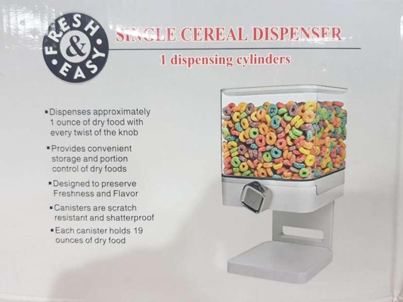 Dispensador para cereal cuadrado - 0