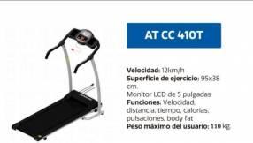 Cinta caminadora Athletic ATCC410T 220V 110 Kg