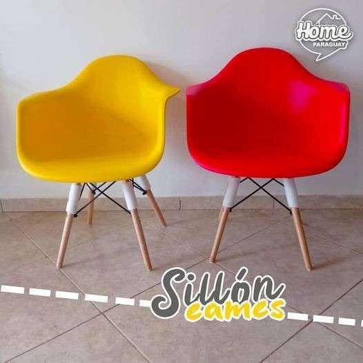 Sillón Eames variados colores - 0
