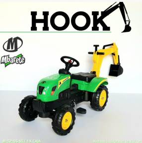 Tractor a pedal Hook
