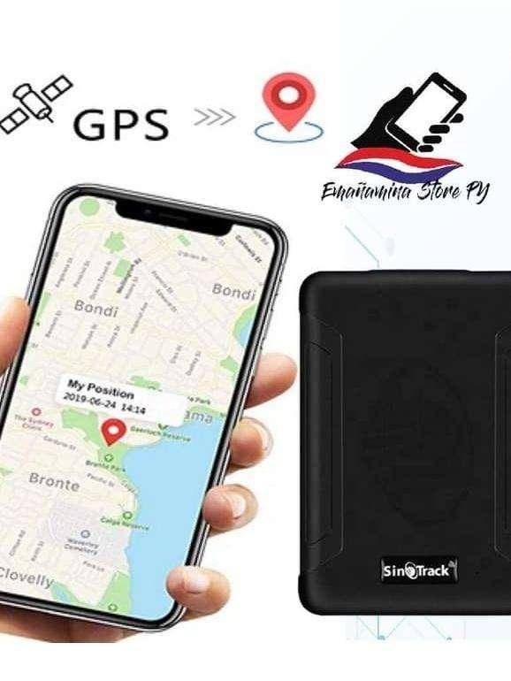 GPS rastreador portátil con micrófono - 0