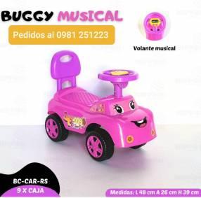 Buggy musical para nena