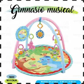 Gimnasio musical para bebé