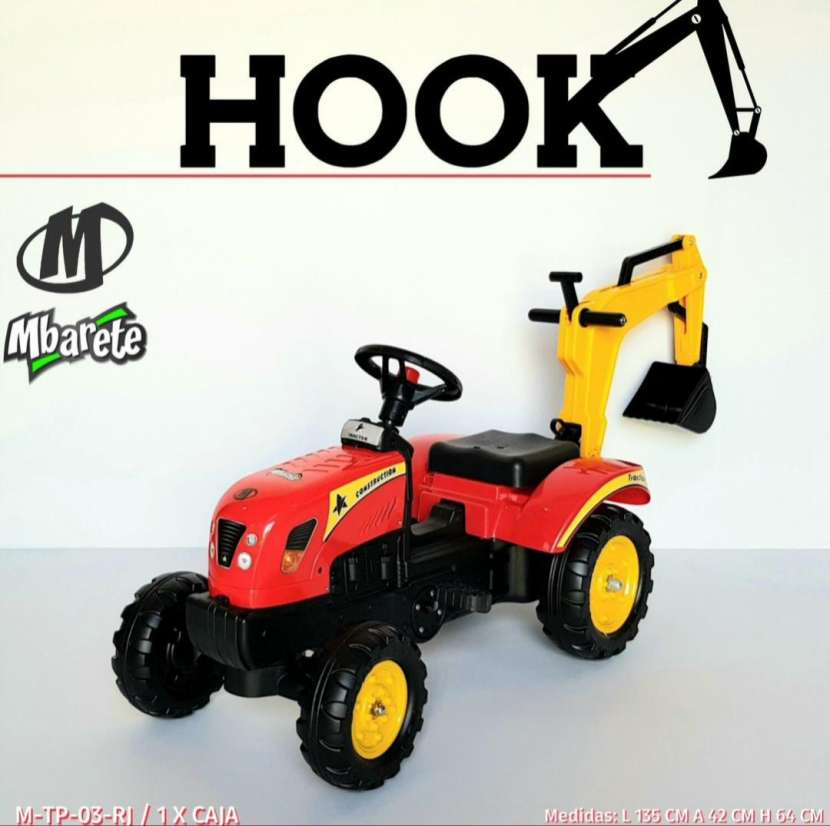 Tractor a pedal Hook - 1