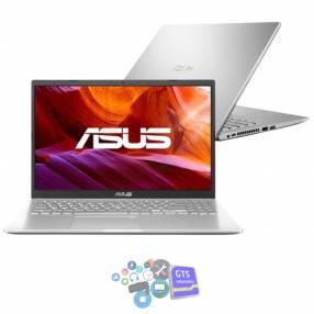 Notebook asus i3 ej390t/15.6 fhd/4gb/128ssd/w10/plata