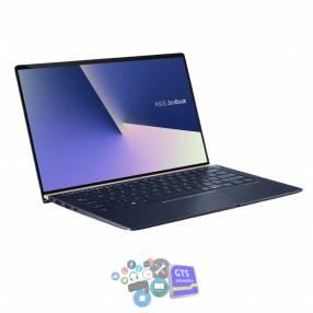 "Notebook asus zenbook ux433fac-a5154t core i5 1.6/8g/512g ssd/w10h/14""fhd wv azul + funda"