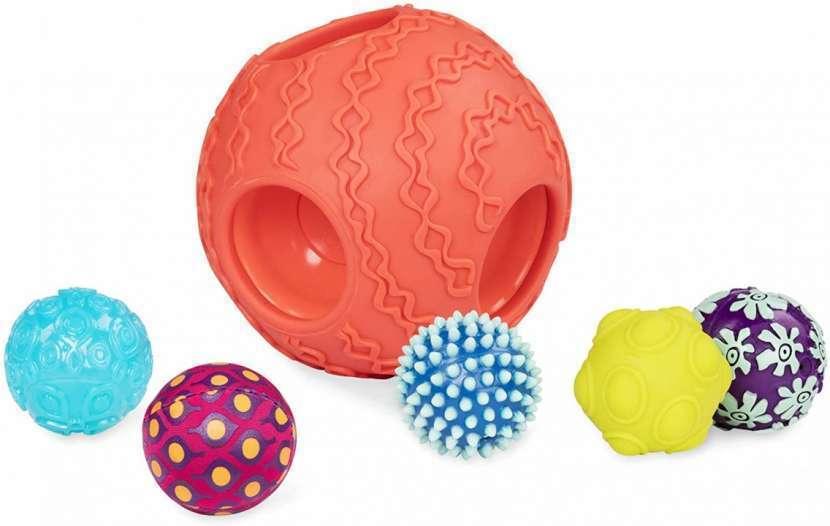 Pelotas sensoriales Ballyhoo 6 en 1 - 1 grande y 5 pequeñas - 3
