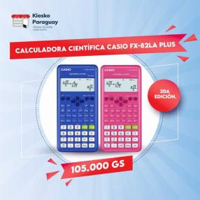 Calculadora Científica Casio fx-82LA PLUS 2nd Edition