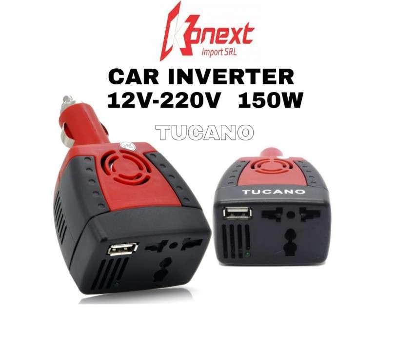 Inversor 12V a 220V 150W para notebook y equipos electrónicos - 0