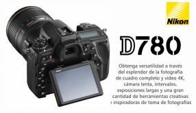 Cámara Nikon D780 Kit 24-120mm