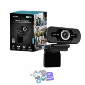 Webcam Argomtech WC-9140BK FHD 1080P con micrófono