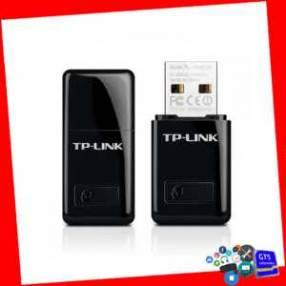 Mini Adaptador USB Inalámbrico N de 300Mbps TL-WN823N