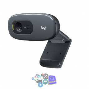 Cámara web HD Logitech C270, video 720p con micrófono