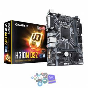 Placa madre gigabyte 1151 h310m ds2 v/s/r/com/lpd
