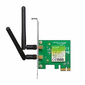 Tarjeta de red wifi PCIE Tp-Link WN881ND/300MBPS/ 2 antenas