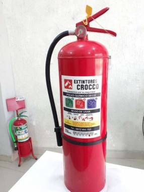 Extintor PQS 10 kg