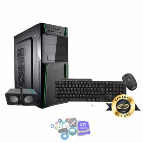 Gabinete kit ftx3145 500w+mouse+teclado multimedia+speaker/español