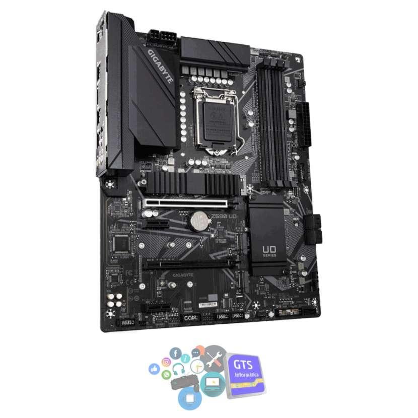 Placa madre gigabyte 1200 z590 ud s/r/dp/3m2/ddr4/usb3.2/atx - 0