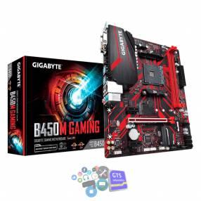 Placa madre gigabyte am4 b450m gaming 1.1 v/ s/ r/ hdmi/ dvi/ m2/ dd4/ matx/ rgb