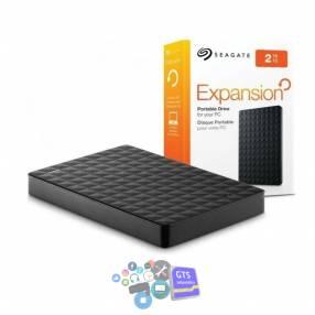 Disco duro externo 2 tb seagate 3.0 usb negro
