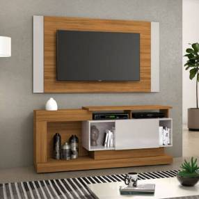 Rack panel para tv hasta 55 pulgadas NT1065 Notavel Abba 3658