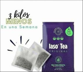 Té Iaso Tea pierdes peso de 1 a 3kl en la primera semana