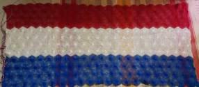 Bandera Paraguaya de Ñanduti 190x100cm