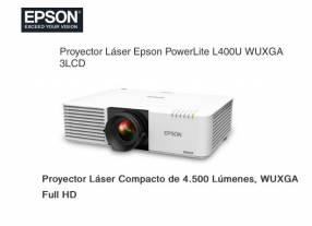 Proyector Láser Epson PowerLite L400U WUXGA