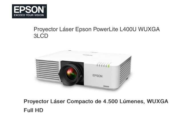 Proyector Láser Epson PowerLite L400U WUXGA - 0