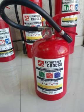 Extintor PQS 2.5 Kg