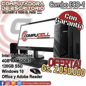 Computadora de escritorio Intel Core i5 económica