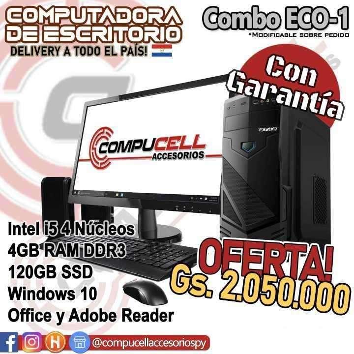 Computadora de escritorio Intel Core i5 económica - 0