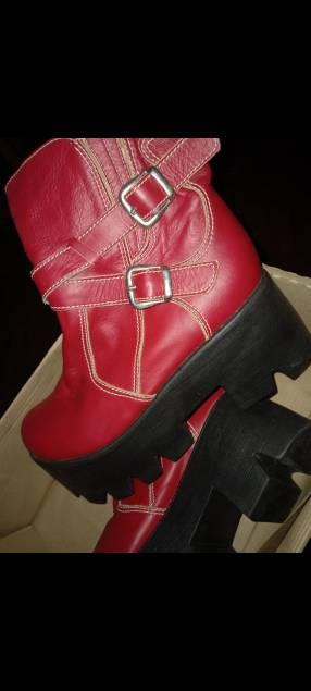 Zapato de cuero calce 36