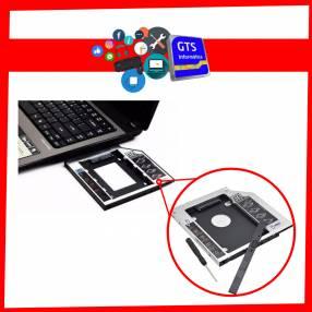 Adaptador caddy p/ notebook 9.5mm
