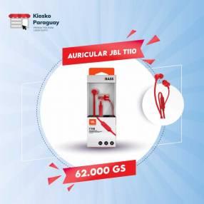 Auricular JBL T110 rojo