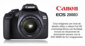 Cámara Canon EOS 2000D Kit 18-55mm