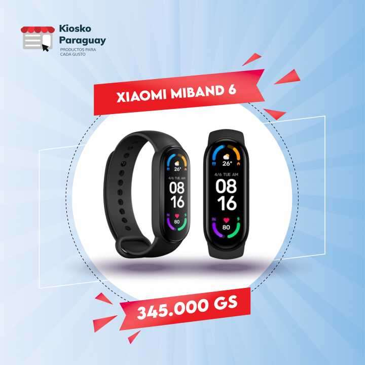 Xiaomi Mi Band 6 negro - 0