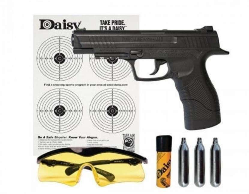 Pistola co2 4,5mm + accesorios - 0