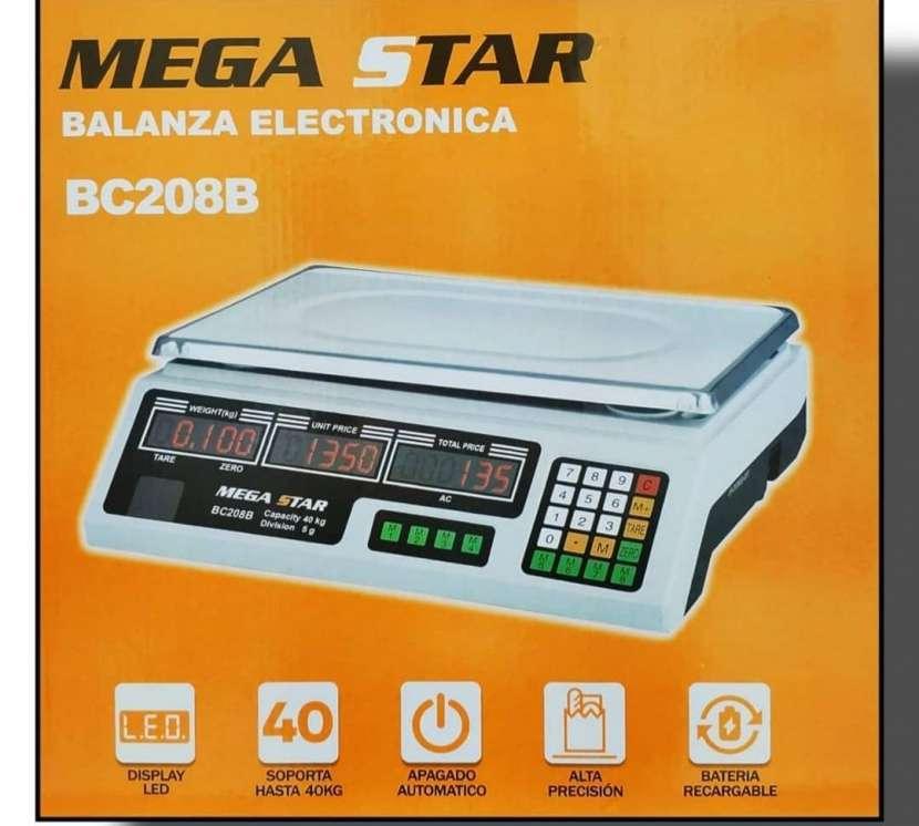 Balanza electrónica Mega Star - 0