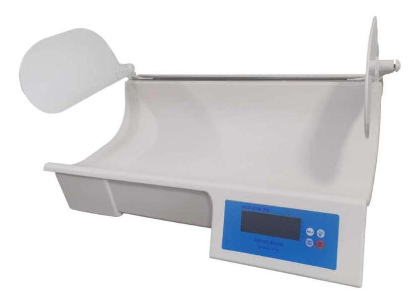 Balanza digital pediátrica con tallímetro - 1