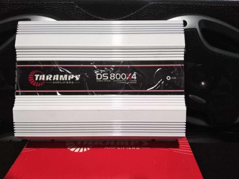 Amplificador Taramps 800x4 1ohm - 1