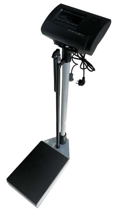 Balanza digital con tallímetro - 1