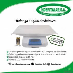 Balanza digital pediátrica