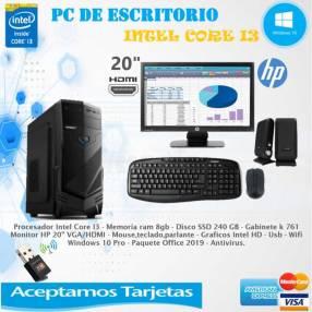 PC de escritorio Intel Core I3